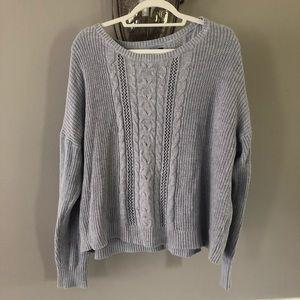 American Eagle XXL Light Blue Sweater
